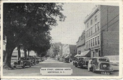 historic images of Northville NY main street Northville 5 and 10 5 and dime